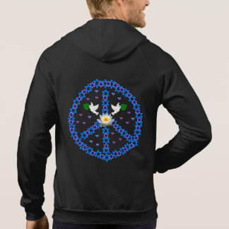 Peace Star Of David Pullover