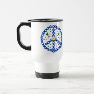 Peace Star Of David Travel Mug