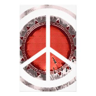 Peace Stationery