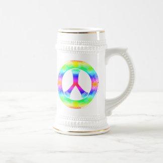Peace Stein Coffee Mugs