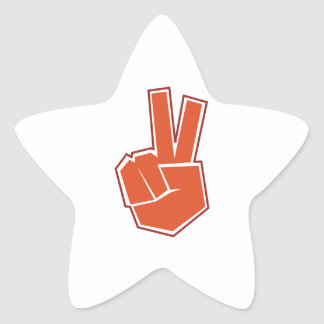 Peace Star Stickers