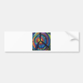 Peace Stump Bumper Sticker