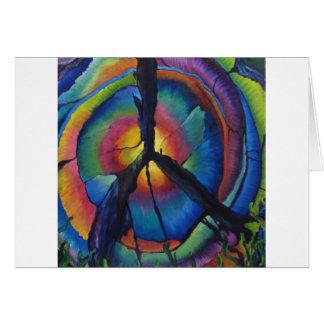 Peace Stump Greeting Card