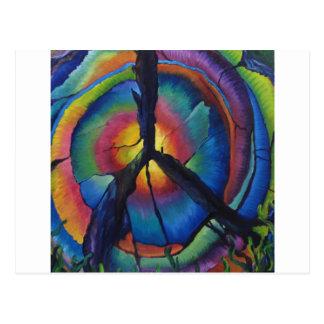 Peace Stump Postcard
