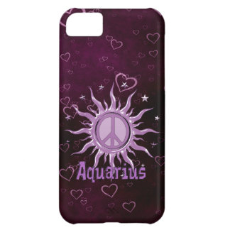 Peace Sun Aquarius iPhone 5C Covers