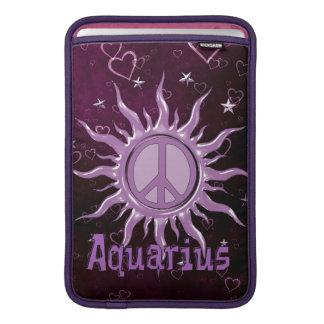 Peace Sun Aquarius MacBook Sleeve