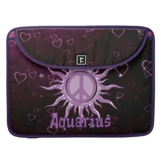 Peace Sun Aquarius Sleeve For MacBooks