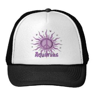 Peace Sun Aquarius Trucker Hat