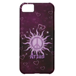 Peace Sun Aries iPhone 5C Covers