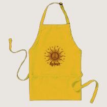 Peace Sun Cancer Adult Apron
