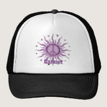 Peace Sun Cancer Trucker Hat