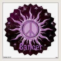 Peace Sun Cancer Wall Sticker