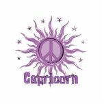 Peace Sun Capricorn Cut Outs