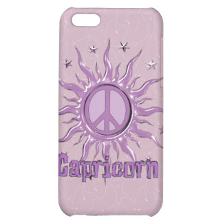 Peace Sun Capricorn iPhone 5C Case