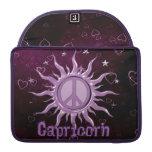 Peace Sun Capricorn MacBook Pro Sleeves