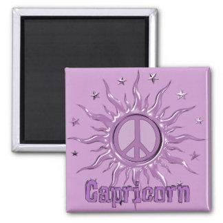 Peace Sun Capricorn Magnet