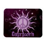 Peace Sun Capricorn Rectangular Photo Magnet