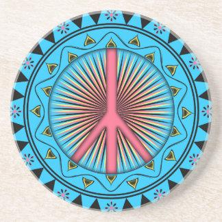 Peace ~ Sun Coaster