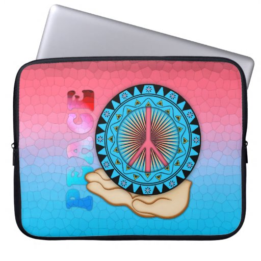 Peace ~ Sun Laptop Sleeves