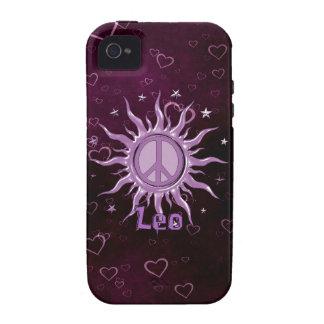 Peace Sun Leo Case-Mate iPhone 4 Cover