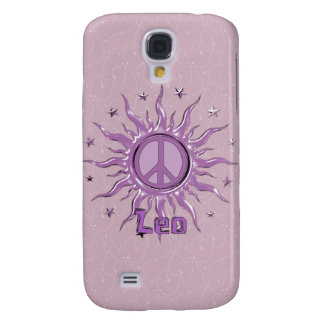 Peace Sun Leo Galaxy S4 Covers