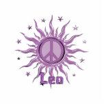 Peace Sun Leo Photo Sculpture