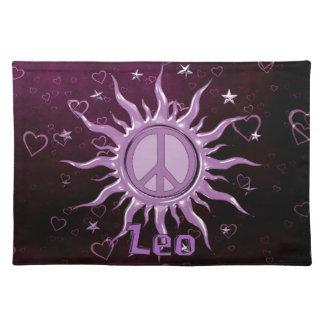 Peace Sun Leo Placemat