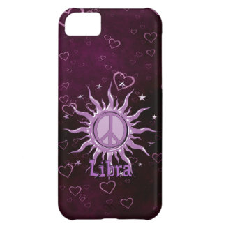 Peace Sun Libra Case For iPhone 5C
