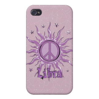 Peace Sun Libra iPhone 4/4S Covers