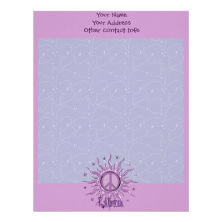 Peace Sun Libra Letterhead