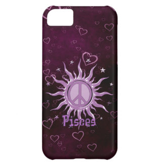 Peace Sun Pisces Case For iPhone 5C