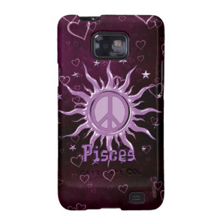 Peace Sun Pisces Samsung Galaxy SII Cover