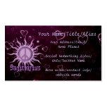 Peace Sun Sagittarius Business Cards