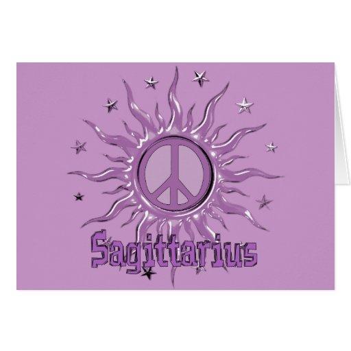 Peace Sun Sagittarius Cards