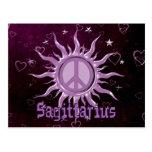 Peace Sun Sagittarius Post Card