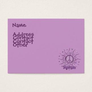 Peace Sun Scorpio Business Card