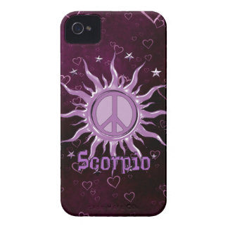 Peace Sun Scorpio Blackberry Bold Cases