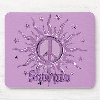 Peace Sun Scorpio Mouse Pad