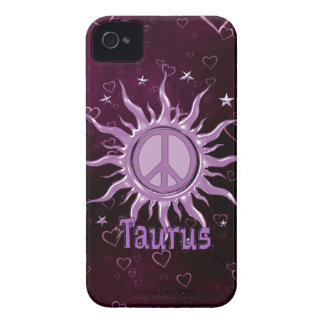 Peace Sun Taurus Blackberry Bold Cases