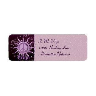 Peace Sun Virgo Label