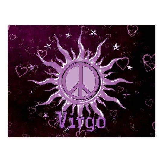 Peace Sun Virgo Postcard