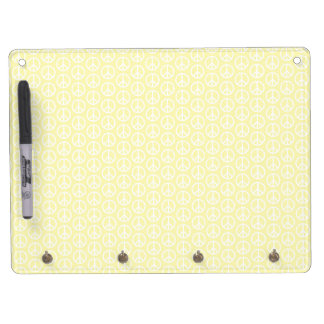 Peace & Sunshine Dry Erase Board With Keychain Holder