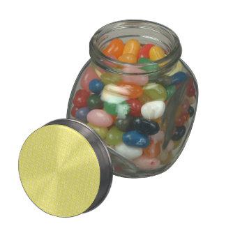 Peace & Sunshine Glass Candy Jar
