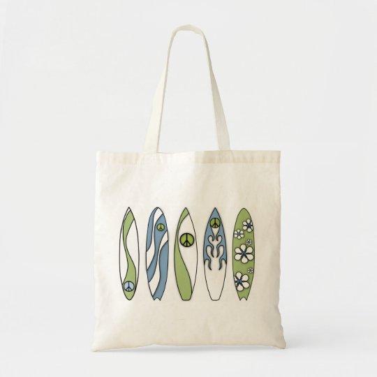 Peace Surfer Tote Bag