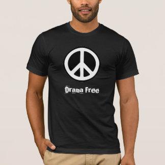 peace_symbol_1, Drama Free T-Shirt