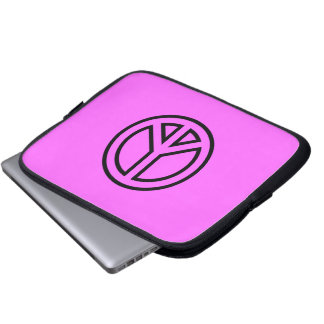 peace-symbol-2(1) PEACE SYMBOL CAUSES LOGO ICON Computer Sleeves