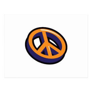 PEACE SYMBOL 3D POSTCARD