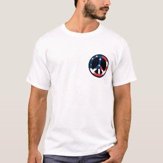 Peace Symbol/ American Flag T-Shirt