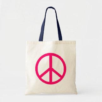peace symbol bag