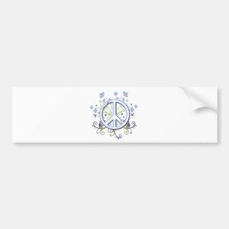 Peace Symbol Bumper Sticker
